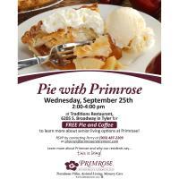 Pie with Primrose