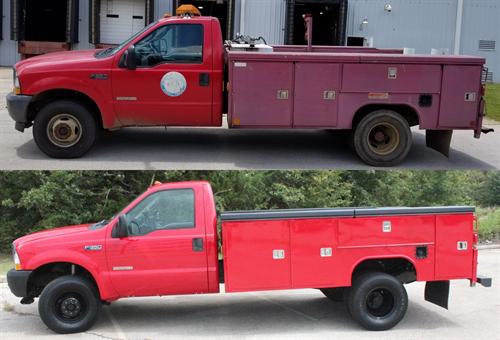 Service Body Work Truck