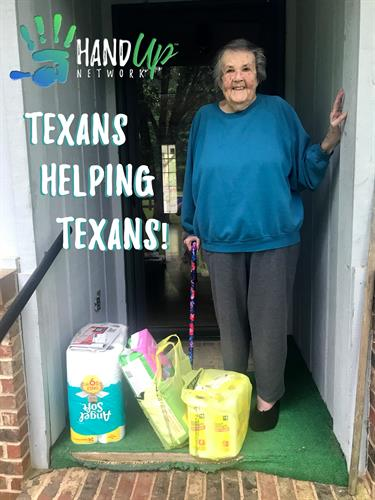 COVID19 Deliveries to Quarantined and Elderly East Texans