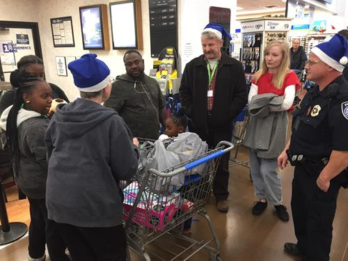 Blue Santa Program with Tyler Police Department