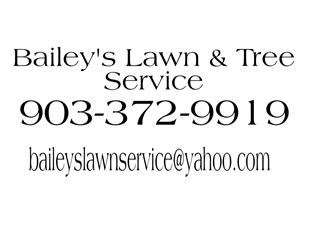 baileys lawn and tree service