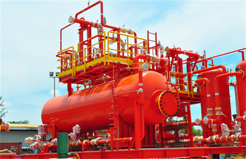 Skid-Mounted Packages:  Oil Treater