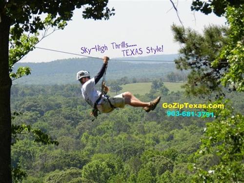 New York, Texas ZipLine Adventures