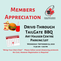 2020 Drive-Thru Tailgate  Member Appreciation BBQ