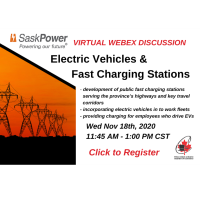 Electric Vehicles & Fast Charging Stations-SaskPower