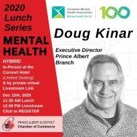 2020 Virtual Lunch Series - Doug Kinar - Canadian Mental Health Association