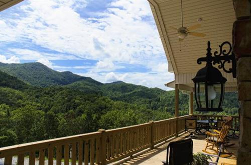 Mountainview porch
