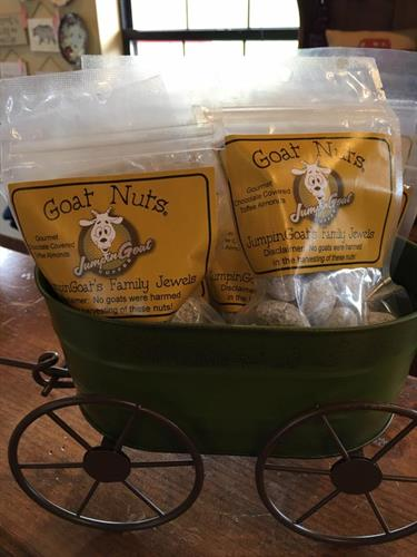 Jumping Goat products from Helen, GA
