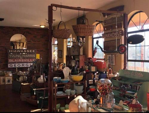 Primitives, antiques, and local signs