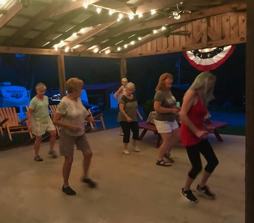 Line dancing!!