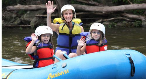 Family Fun on the Pigeon River!