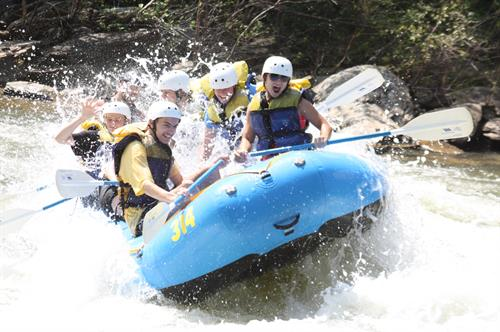 Big, splashy fun on the Middle Ocoee!