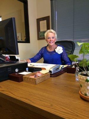 President Co-Owner Jayne Henninger
