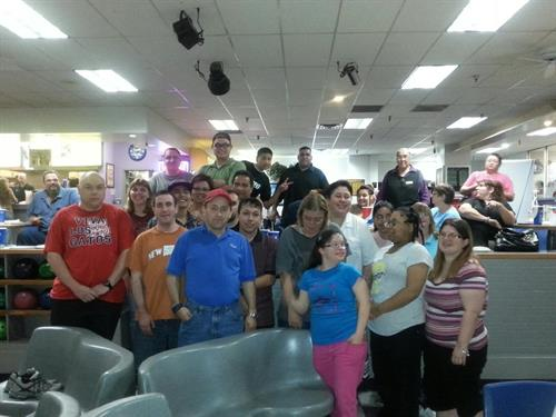 TCH Employee Bowling Night