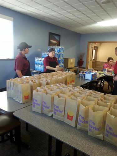 TCH prepares 380 Goodie Bags for Deployed Davis-Monthan Airmenr