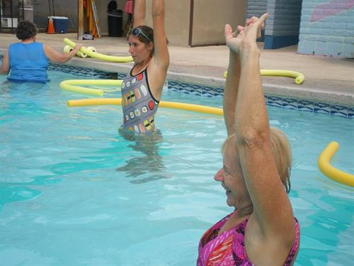Our group classes include aquatics