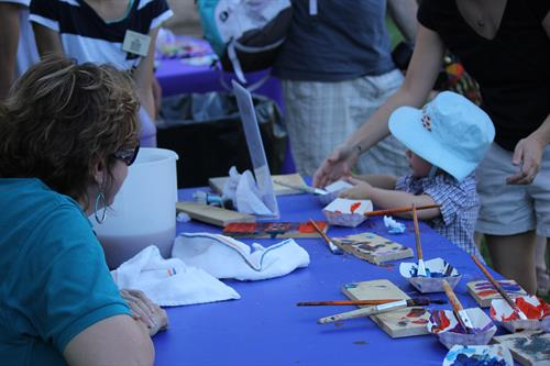Crafts at Summer Safari