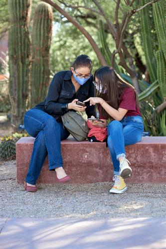 Mentoring a child helps spark their potential