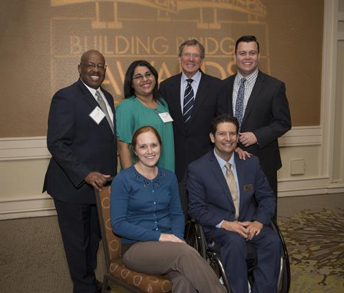 The Linkages Team at our Building Bridges Luncheon in 2016