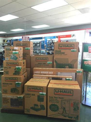 Available moving supplies in U-Haul Moving & Storage at Ina Rd store