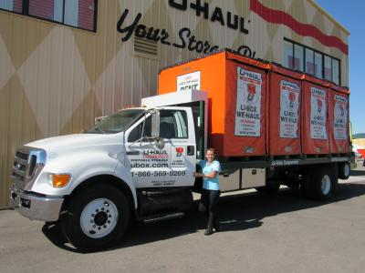 Portable storage available at U-Haul Moving & Storage at Ina Rd