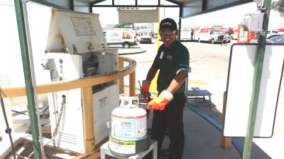 Get your propane refilled at U-Haul Moving & Storage at Ina Rd