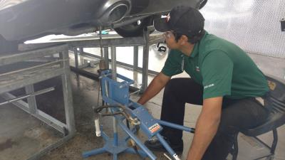 Our hitch pros will install a trailer hitch on your vehicle at U-Haul Moving & Storage at Ina Rd