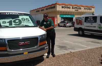 $19.95 van rental and storefront at U-Haul Moving & Storage at Ina Rd