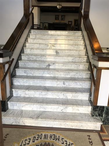 Italian Marble Entrance
