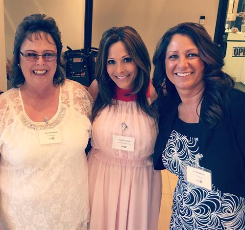 Judy Hernandez, Kristi Tedesco, Diana Abner