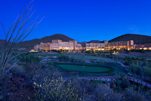 JW Marriott Starr Pass Resort & Spa at Sunset