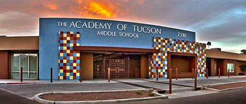 Middle School Campus located at 22nd and Turquoise (East of Kolb) Houses grades 6-8.