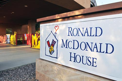 Welcome to the Ronald McDonald House