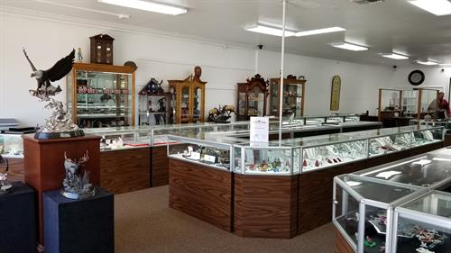 Vast selection of Jewelry, coins, and collectables