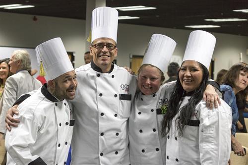 Culinary School graduates