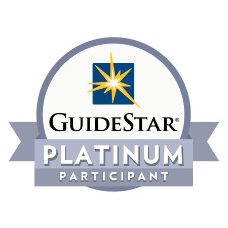 Guidestar highest Platinum Level rating