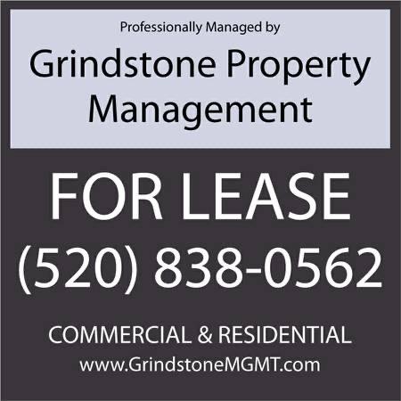 Grindstone sign