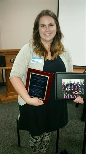 Thank you to our outgoing Southern AZ support group leader, Marissa.