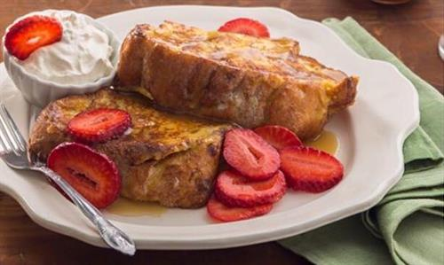 Kneaders Famous Chunky Cinnamon French Toast! All you can eat 7am-11am