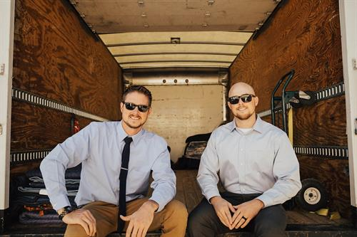 Owners of Military Brothers Moving (Kevin and Bryan Hoey)