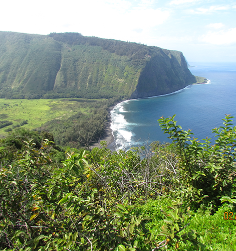 Along the NW coast of the Big Island, Hawaii