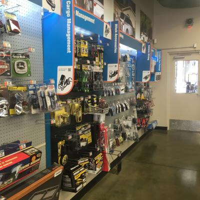 We carry all the products you need for a complete tow package. Come down to our showroom and take a look.