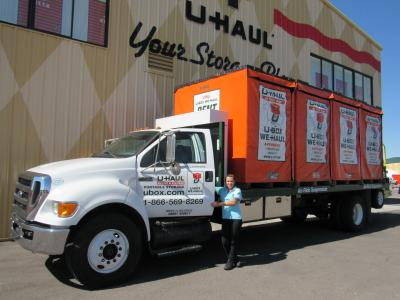 We will haul your U-Box anywhere!