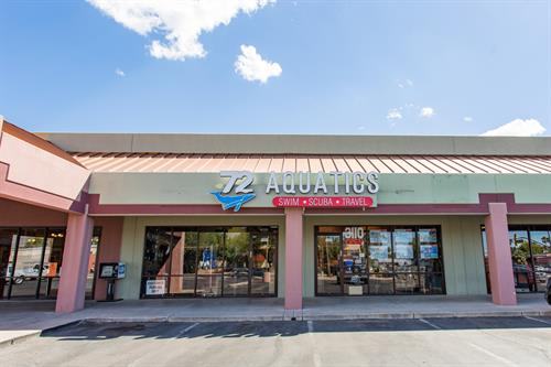 72 Aquatics is Located at the SE Corner of Country Club & Ft. Lowell