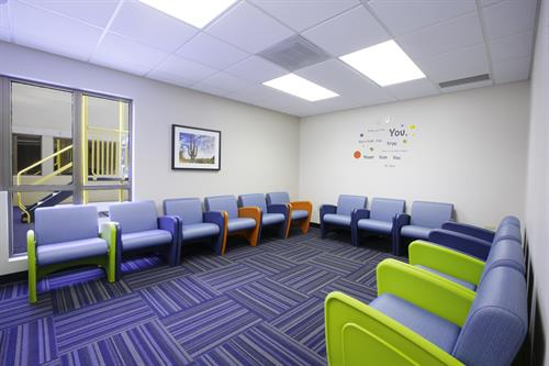 Our colorful adolescent treatment rooms provide a welcoming space for our youngest patients. We help adolescents ages 12-17.
