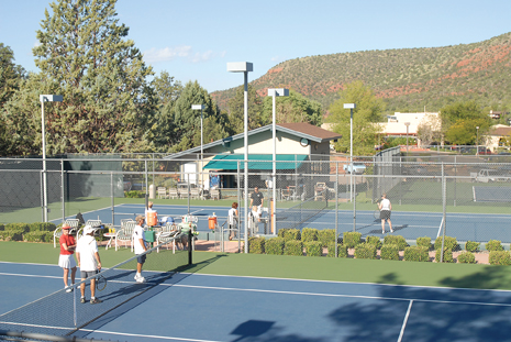 Tennis at Poco Diablo Resort