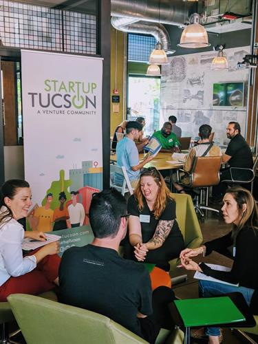 Startup Tucson programming with entrepreneurs looking to start and grow a business.