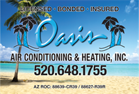 Oasis Air Conditioning and Heating, Inc.