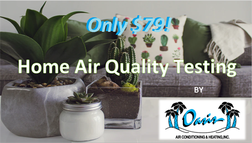 Test for indoor air pollution only $79!