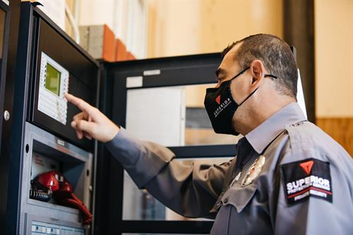 Corporate Security Fire Suppression System Checks/monitoring